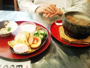 石焼和風つけ麺 黒