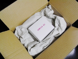 到着時の箱 中身