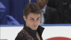 フィギュアスケートグランプリシリーズ NHK杯 男子SPトップのジュベール様