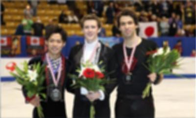 フィギュアスケート男子シングル表彰式@カナダ