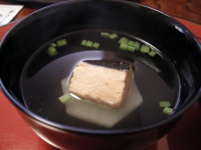 椀物 かぶと鮭