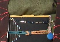 桃ちゃんの羽織紐