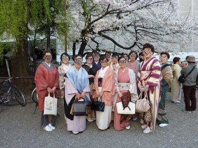 桜と柳の下~
