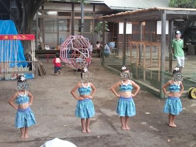 かわいいフラダンス
