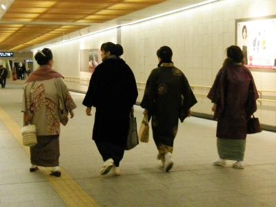 松屋へ向かう途中