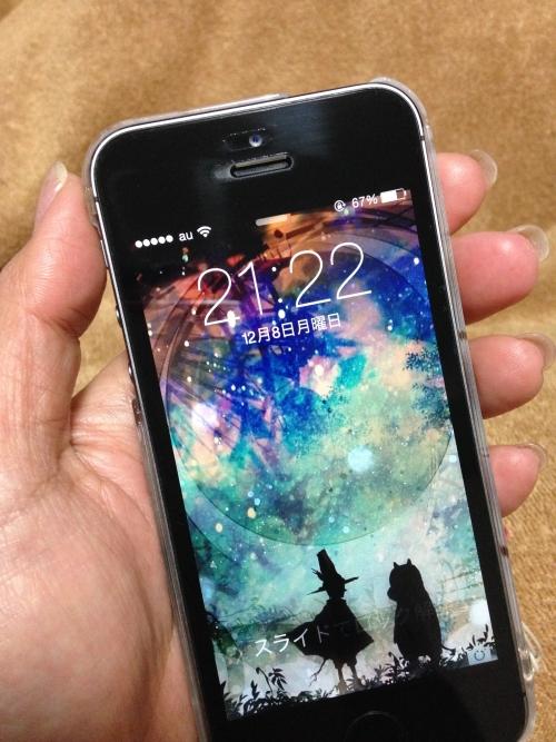 水没の為iPhone5s買いました。