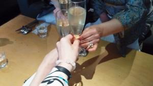 シャンパンサービス