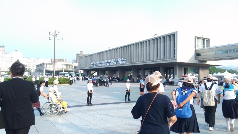 広島で平和を祈る。