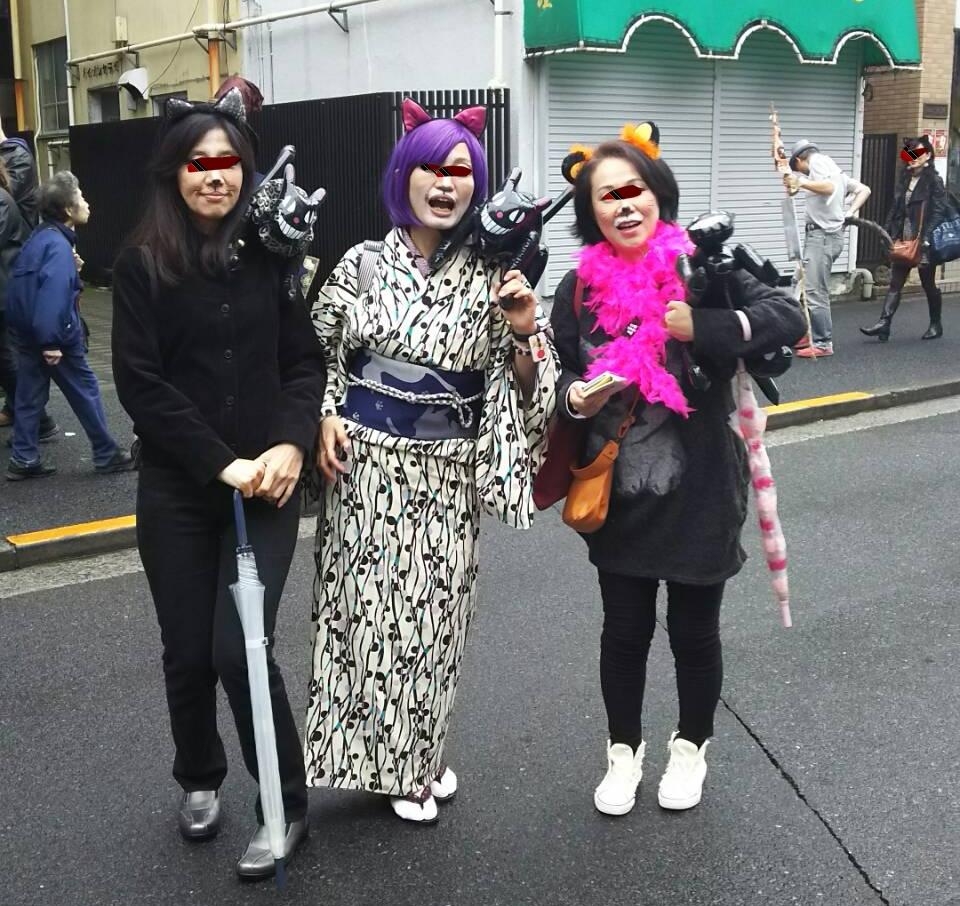 神楽坂 化け猫フェスティバル2017